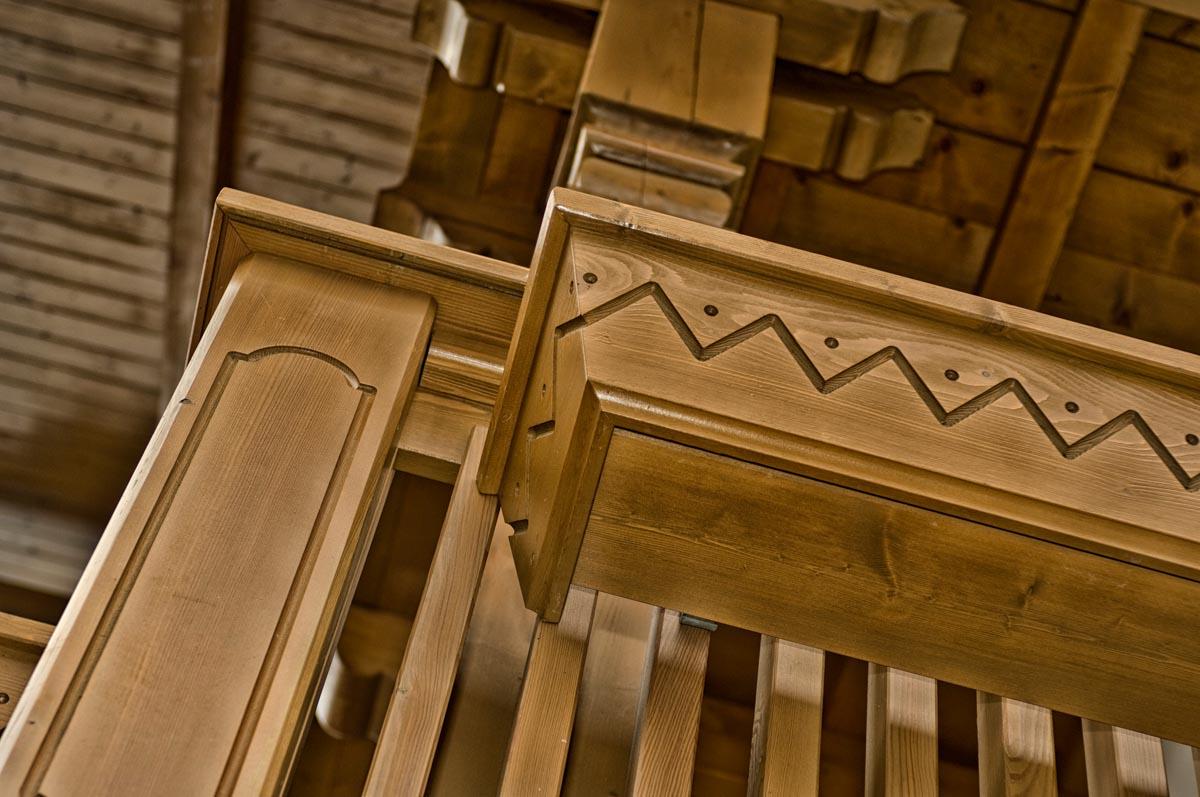 Balconi Esterni In Legno : Balconi in legno parapetti in legno recinzioni in legno
